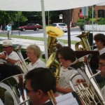 Eb horns, Gettysburg, June 16, 2007