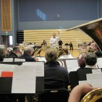 Mass brass rehearsal with Nigel Horne