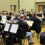 Mass brass rehearsal