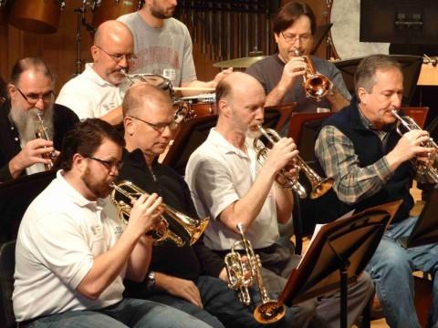 Rockville Brass Band cornets