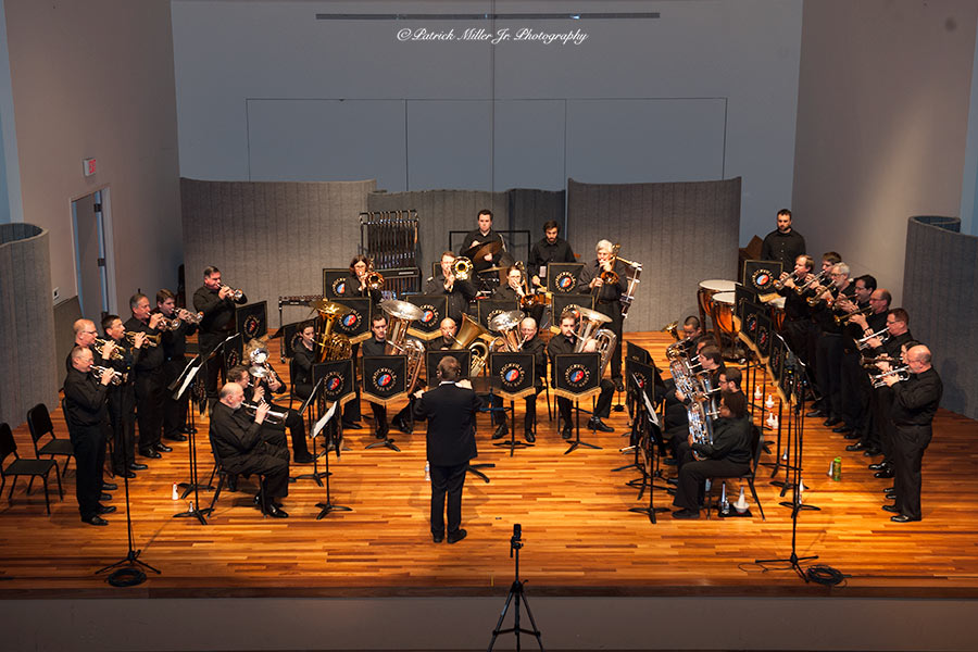 A Blast of Brass!  Rockville Brass Band at American University, April 2015