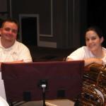 Jeff and Amy, Collington, May 3, 2009