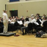 Mass brass rehearsal with Nigel Horne