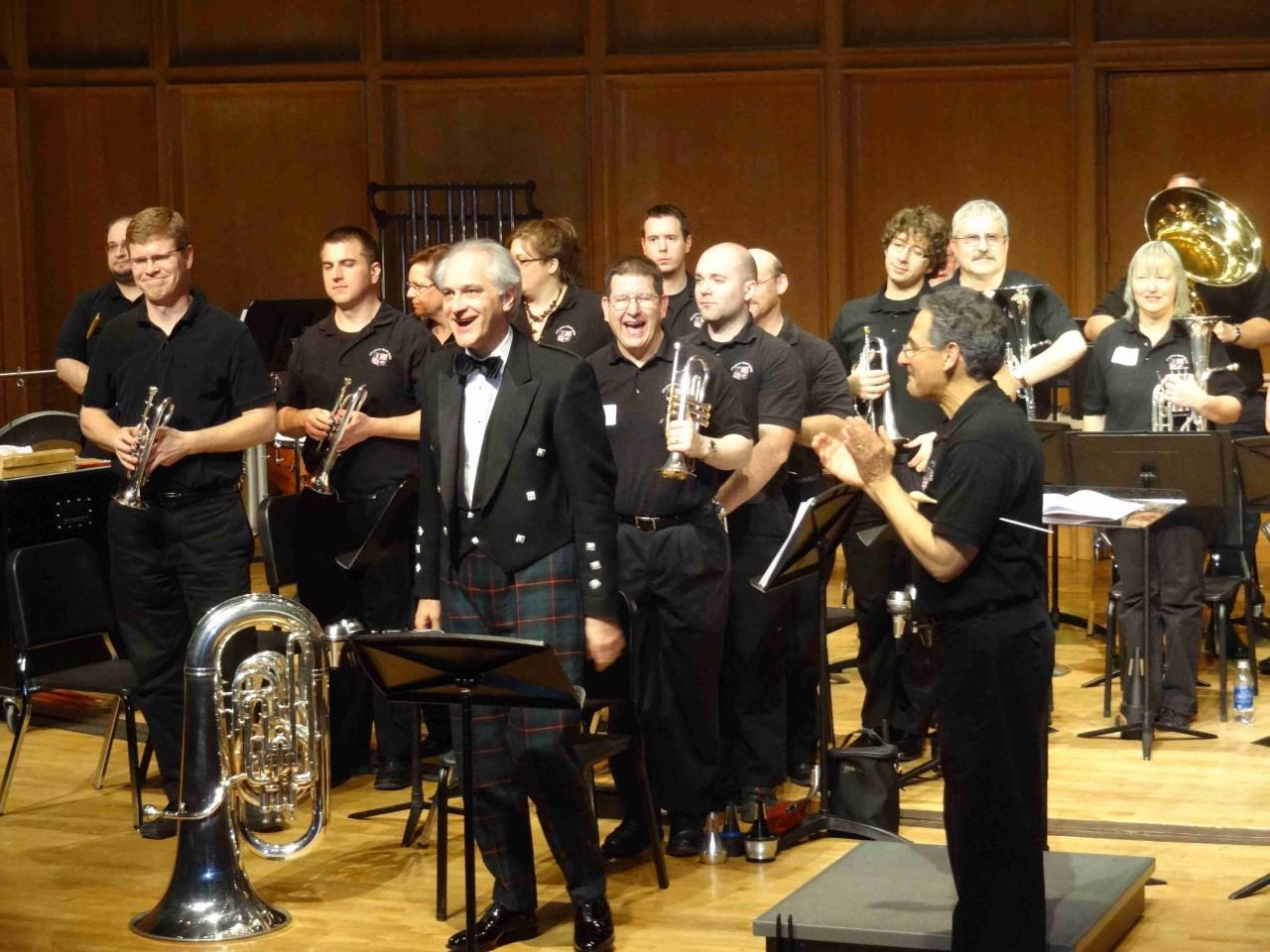 Tuba Concerto by Martin Ellerby.  Atlantic Brass Band, Dr. James Gourlay, soloist.